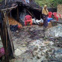إعصار مايو 2017 في مخيمات بنغلاديش