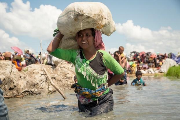 صور من مأساة الروهنغيا في مخيمات بنغلاديش | أكتوبر 2017م