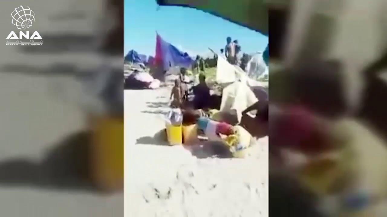 لاجئون عالقون : نحن بلا ماء ولا طعام والحكومة تحاصرنا (مترجم إلى اللغة العربية )