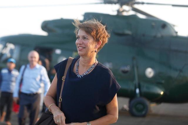 السيدة السويسرية المكلفة بإحلال السلام في ميانمار