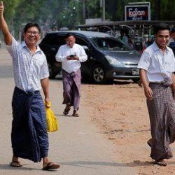 حقائق فرحة وارتياح لنيل صحفيين من رويترز حريتهما في ميانمار