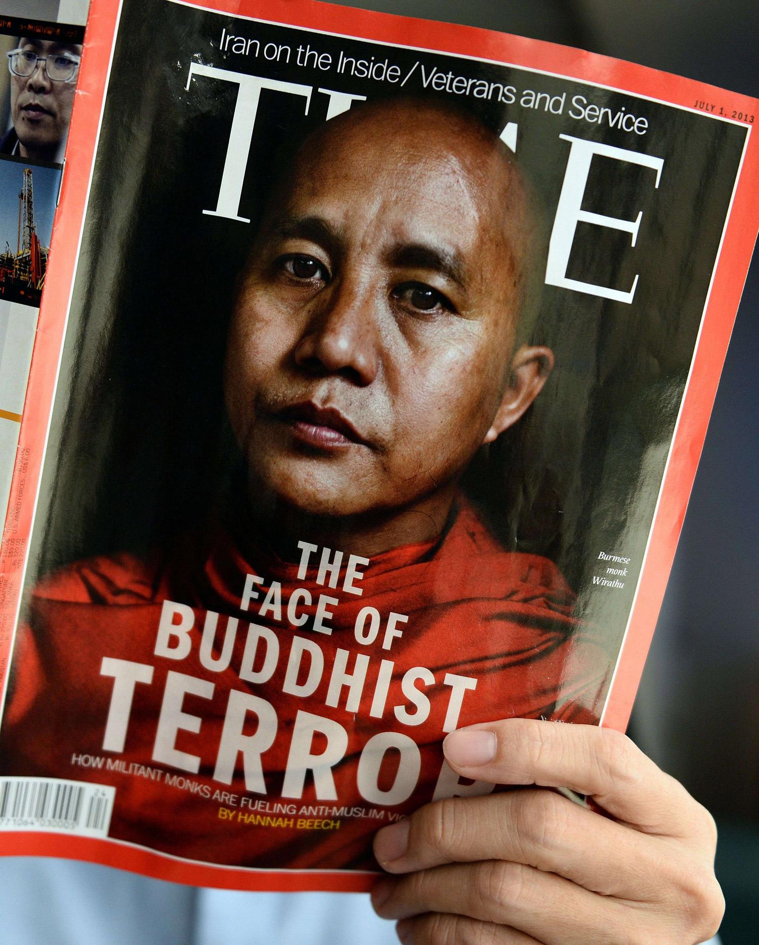 الراهب آشين ويراثو.. وجه التطرف البوذي ضد مسلمي الروهنغيا