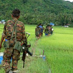 جماعة بوذية متمردة تشن هجوما مسلحا على شرطة ميانمار