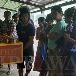 جيش ميانمار يطلق النار على شاب وامرأة حامل بالرصاص بدون سبب