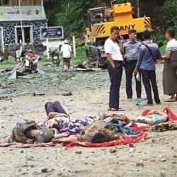 شركة بلجيكية تقطع علاقاتها مع أخرى مملوكة جزئيا لجنرالات جيش بورما