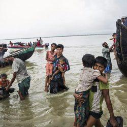 «بي بي سي»: ميانمار تستغل منازل الروهنغيا لبناء مخيمات الإيواء وتمركزات الجيش
