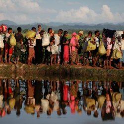 روهنغيون يبكون بمحكمة في ميانمار بعد اتهامهم بالسفر دون وثائق