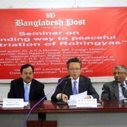 بدء وضع سياج من الأسلاك الشائكة حول مخيمات الروهنغيا في بنغلادش