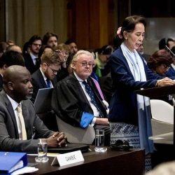 """""""الروهنغيا الأوروبي"""" يندد بزعيمة ميانمار لدفاعها عن جرائم الجيش"""
