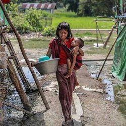 17 أسرة روهنغية لاجئة في بنغلادش تعتنق الديانة المسيحية