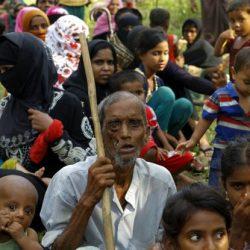 حملة تطعيم ضد الحصبة الألمانية في مخيمات الروهنغيا في بنغلادش