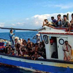 ثناء على اندونيسيا بعد إنقاذها اللاجئين الروهنغيا العالقين
