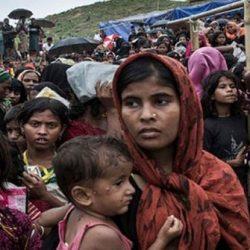 الروهنغيا في بنغلادش يقيمون احتجاجا صامتا في ذكرى أزمة 25 أغسطس