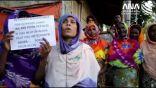 النساء الأرامل في مخيمات الروهنغيا ببنغلادش يستغثن قبل عيد الأضحى
