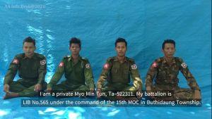 جندي ميانماري منشق يعترف بجرائم الجيش ضد الروهنغيا