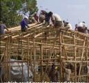 لاجئو الروهنغيا في بنغلادش يبنون مراكز عزل تحسبا لأي إصابة بـ (COVID-19)