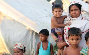 ميانمار تعلن عن نقل مخيم للنازحين الروهنغيا في ولاية أراكان