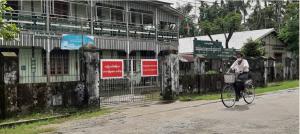 أكثر من ١٠ أشخاص من عمال الإغاثة الدولية يصابون بكورونا في ولاية أراكان
