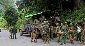 هجوم على سيارة تنقل عينات لفحص كورونا ومقتل سائقها في ميانمار