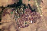 فظائع جديدة.. صور أقمار صناعية تكشف حرق 200 منزل بقرية في أراكان
