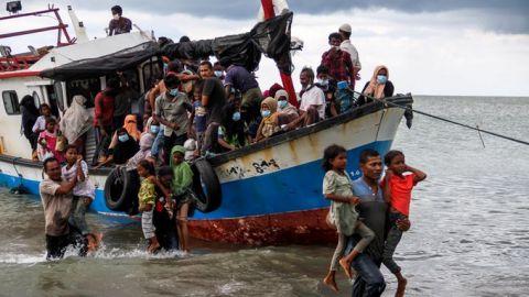 الفحوصات تثبت خلو اللاجئين الروهنغيا الجدد في اندونيسيا من فيروس كورونا