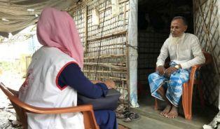 مفوضية اللاجئين : لاجئو الروهنغيا في بنغلادش اليوم في أضعف حالاتهم