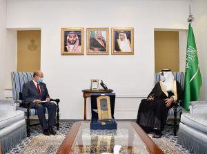 السعودية تودع سفير ميانمار لديها بعد انتهاء فترة عمله