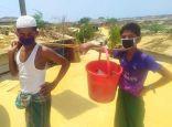 اللاجئون الروهنغيا في بنغلادش يشتكون من أزمة مياه الشرب وسط معاناة كورونا