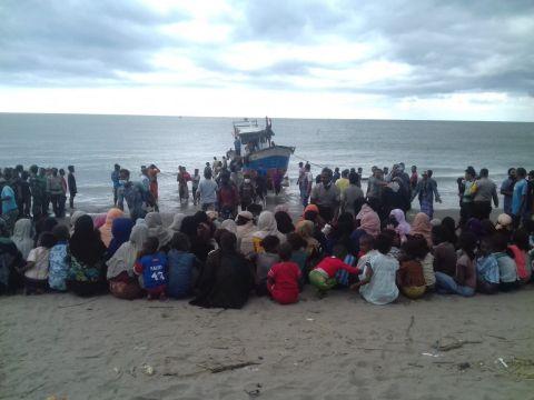 اندونيسيا : حالة اللاجئين الروهنغيا في تحسن مستمر