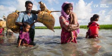 بنغلادش.. الروهنغيا يواجهون الفيضانات وكورونا في آن واحد