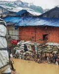 الأمطار الموسمية الغزيرة تفاقم الأوضاع السيئة في مخيمات الروهنغيا في بنغلادش